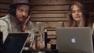 Cara Delevingne en el estudio con Pharrell y Justin Timberlake