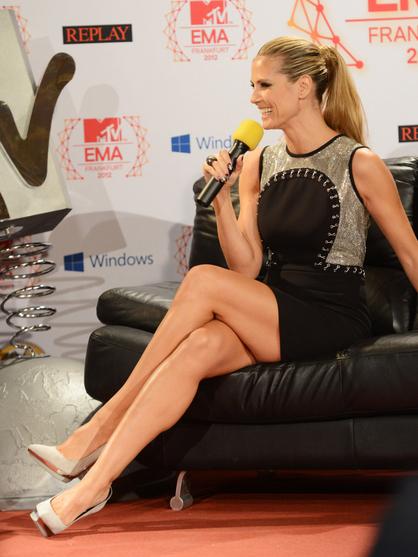 MTV EMA 2012: los looks de Heidi Klum - MTV EMA 2012: los looks de Heidi Klum