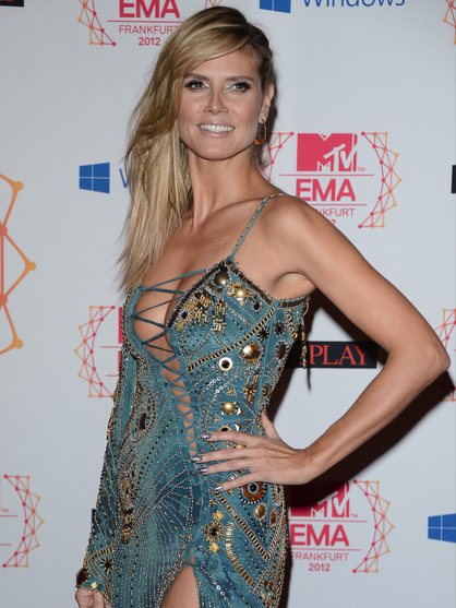 MTV EMA 2012: los looks de Heidi Klum - MTV EMA 2012: los looks de Heidi Klum