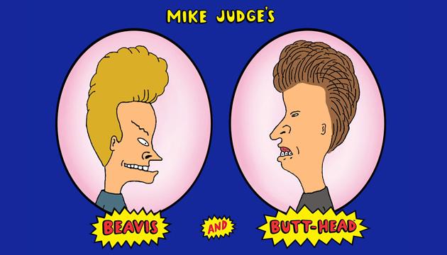 La botonera de Beavis and Butt-head