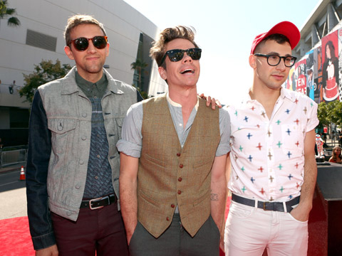 MTV VMA 2012: fashionistas - Fun.