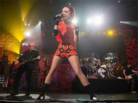 Garbage en World Stage Monterrey: estreno!
