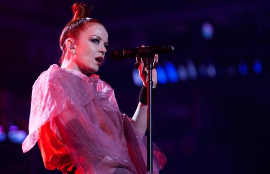 GARBAGE: FOTOS DEL SHOW - Shirley Manson (Garbage)