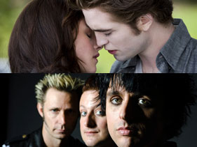 ¡Estrenamos el video de Green Day para La Saga Crepúsculo!