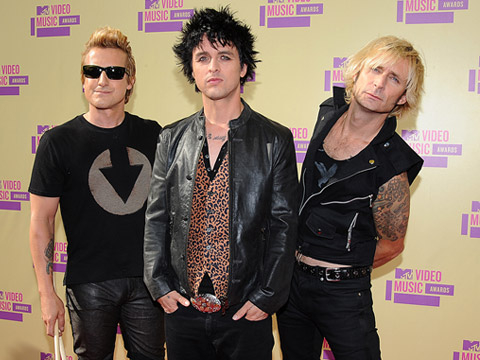 MTV VMA 2012: fashionistas - Green Day