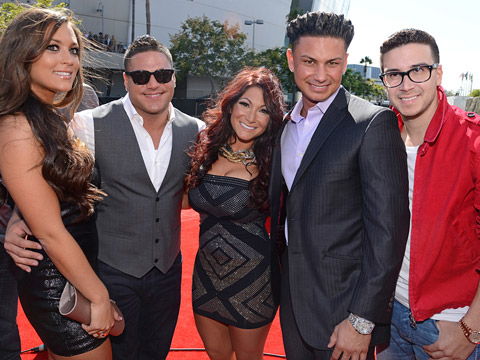 MTV VMA 2012: fashionistas - Los chicos de Jersey Shore