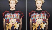 Justin Bieber despierta la ira de los fans por usar una camiseta de Nirvana