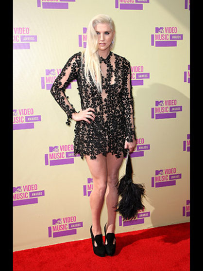 MTV VMA 2012: fashionistas - Ke$ha