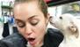 La nueva mascota de Miley Cyrus es ¡casi su novio!