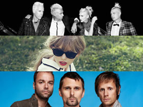MTV EMA 2012: ¡Taylor Swift, Muse y No Doubt actuarán en vivo!
