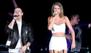 Taylor Swift y Nick Jonas, ¡juntos en el escenario!
