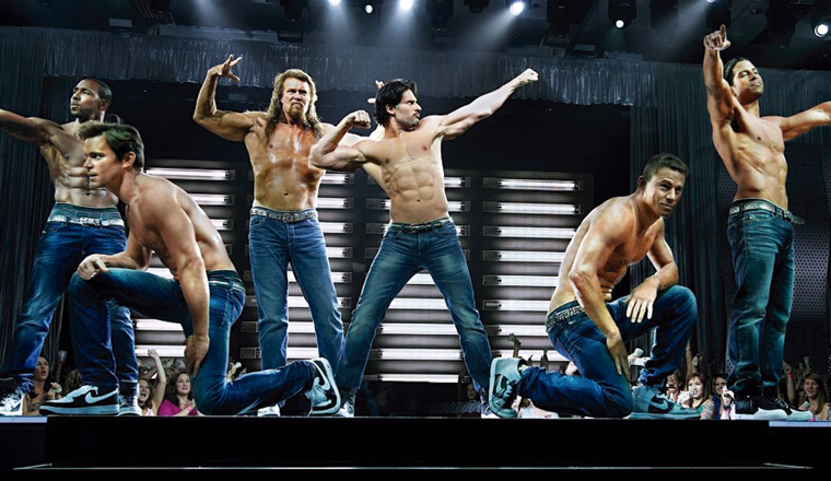 Los chicos de Magic Mike explican el striptease final