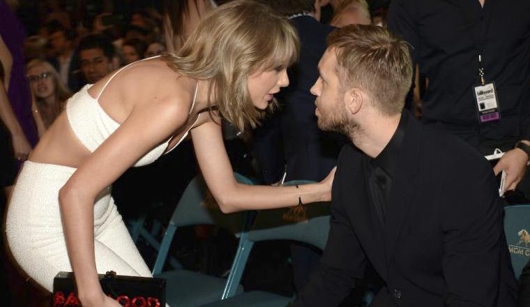 Taylor Swift y Calvin Harris están escribiendo música el uno del otro