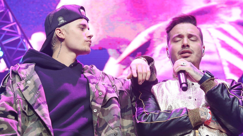 Justin Bieber interrumpió el concierto de J Balvin