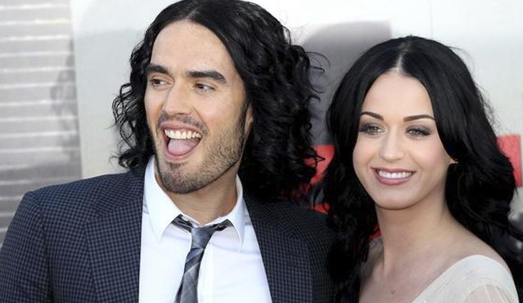 Katy Perry no ha hablado con Russell Brand desde su divorcio