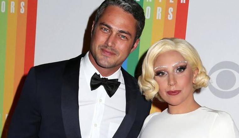 """Lady Gaga pasó """"el mejor domingo"""" con su prometido"""
