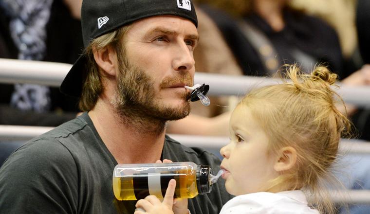 David Beckham se vuelve a tatuar por su familia