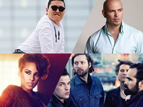 MTV EMA 2012: ¡se suman Alicia Keys, Pitbull, The Killers y Psy!