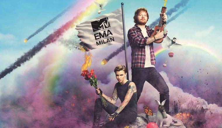 ¡Ed Sheeran será el anfitrión de los MTV EMA junto a Ruby Rose!