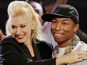 Gwen Stefani y Pharrell Williams: ¡juntos en el escenario!