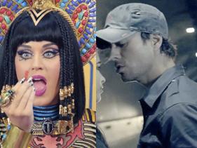 Katy Perry y Enrique Iglesias: ¡los más reproducidos del 2014!