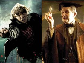 La Copa Harry Potter, Batalla 7: Ron Weasley vs. Horace Slughorn
