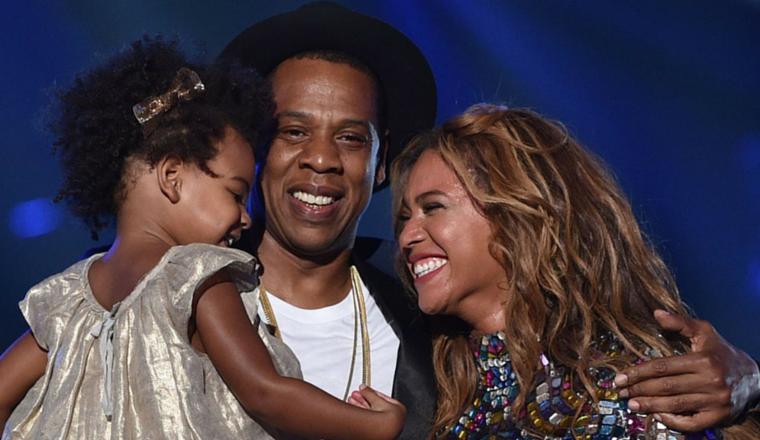 Blue Ivy fue al ensayo de Beyoncé e imitó a su mamá