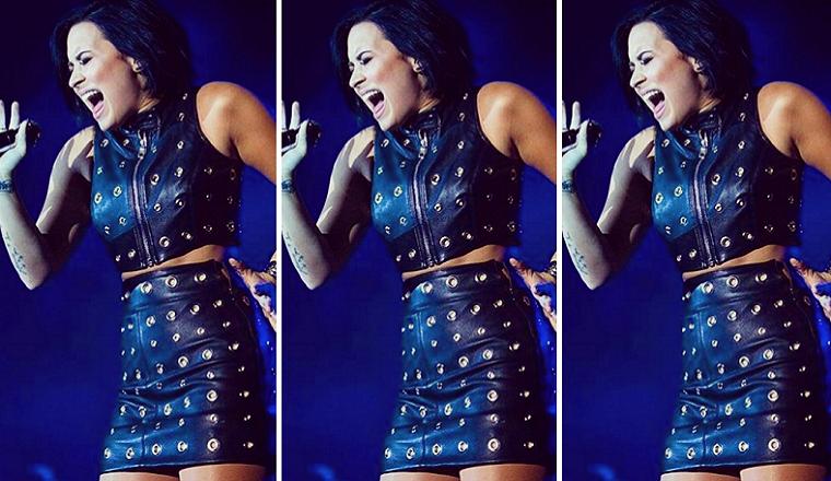 Demi Lovato hizo un cover de Adele... ¡y fue alucinante!