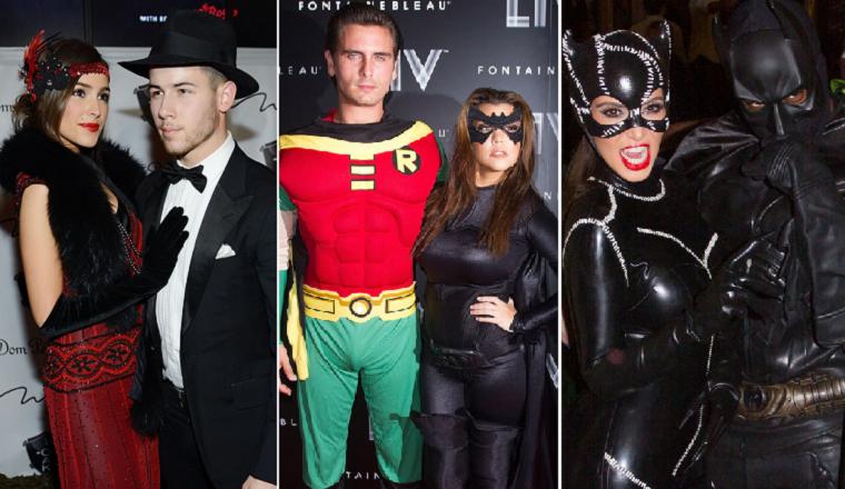Los disfraces más originales de parejas famosas en Halloween ...