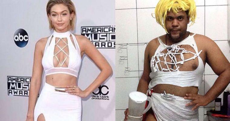 Este blogger brasileño recrea outfits de celebridades en su instagram