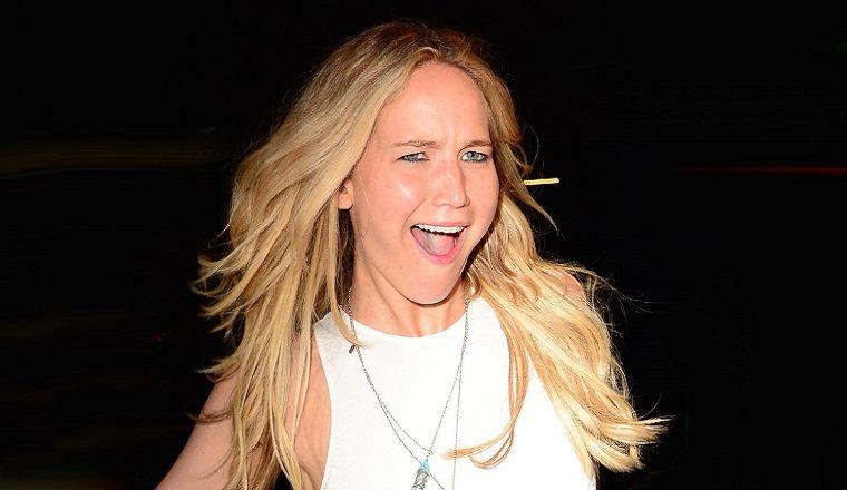 Jennifer Lawrence repitió un vestido y demostró que es igual a cualquiera de nosotros