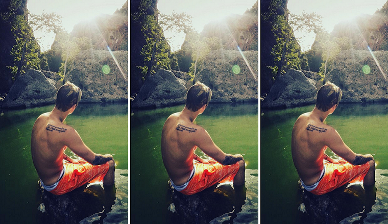 Justin Bieber ama la naturaleza y lo demuestra con estas fotos sensuales