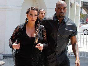 Kim Kardashian está feliz por su boda con Kanye West