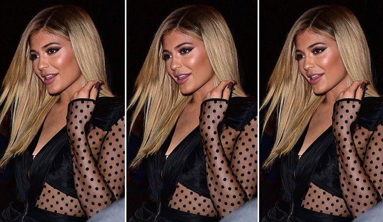 Kylie Jenner, irreconocible en el desfile de Kanye West