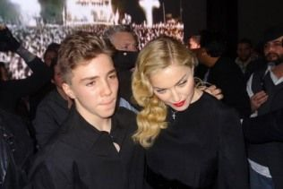 Madonna presentó a Rocco