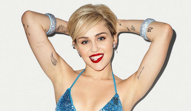 El bikinazo de Miley Cyrus que nadie había notado