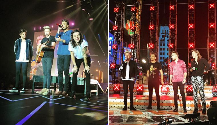 Se filtran fotos de los chicos de One Direction grabando un vídeo