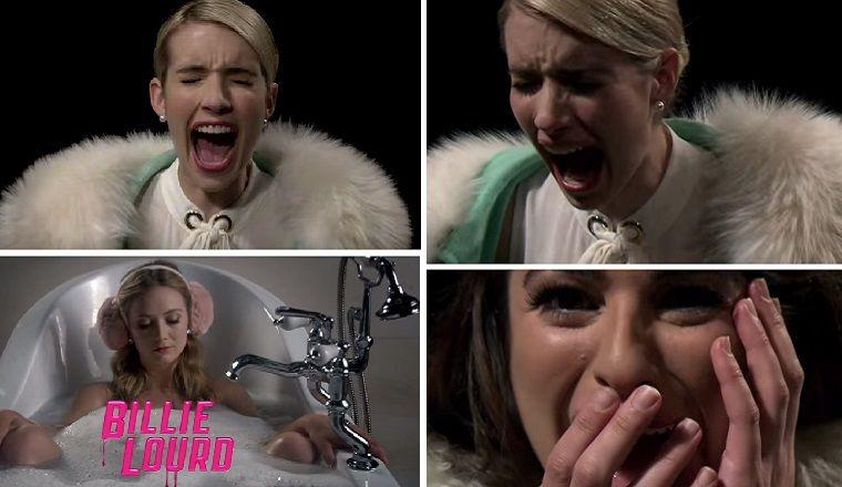 ¡Mira la presentación de Scream Queens!