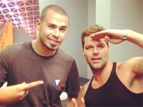 Ricky Martin se divierte con Instagram