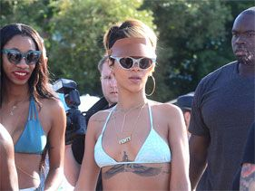 Rihanna no quiere saber nada de Chris Brown