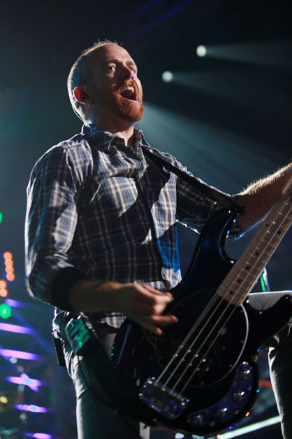 LINKIN PARK: FOTOS DEL SHOW - Dave Farrell (Linkin Park)
