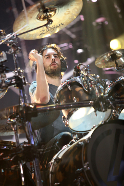 LINKIN PARK: FOTOS DEL SHOW - Rob Bourdon (Linkin Park)