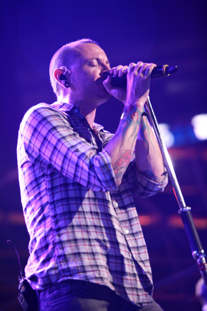 LINKIN PARK: FOTOS DEL SHOW - Chester Bennington (Linkin Park)